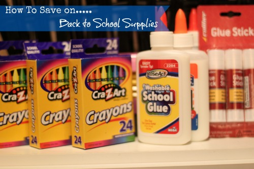 How To Save on Back to School Supplies