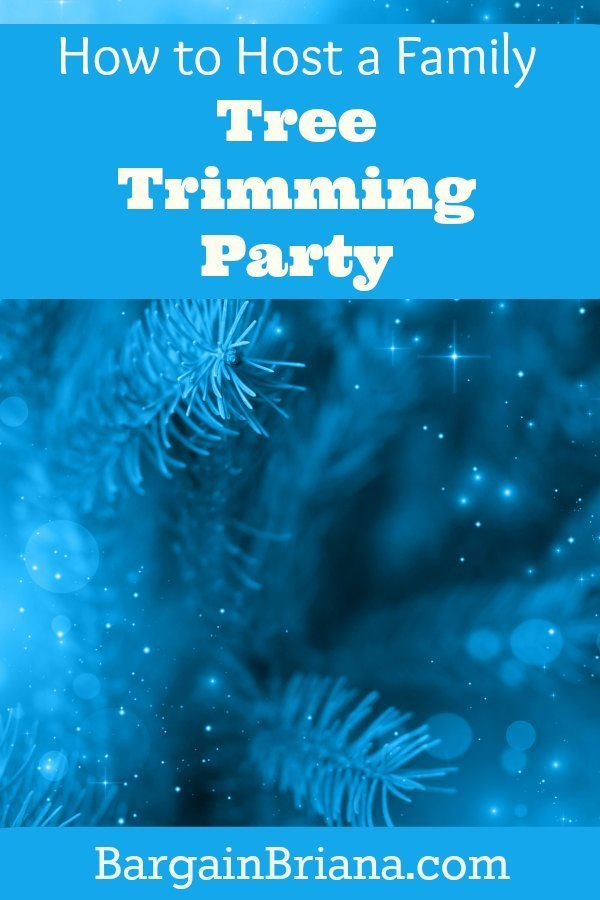 How to Host a Family Tree Trimming Party