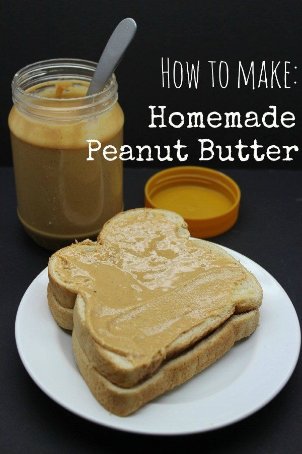 How to Make Homemade Peanut Butter - BargainBriana
