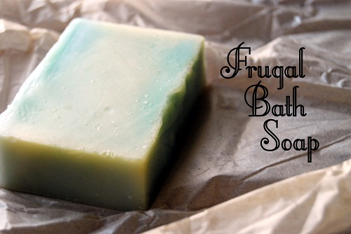 How to Make Your Own Frugal Bath Soap
