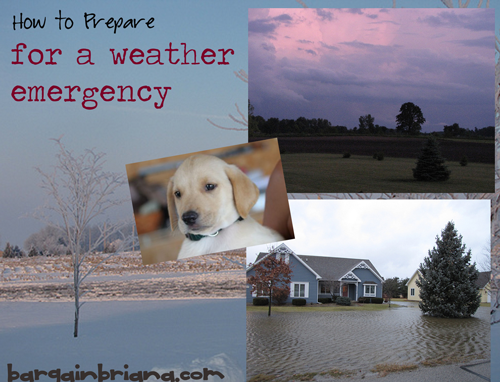 How To Prepare for a Weather Emergency