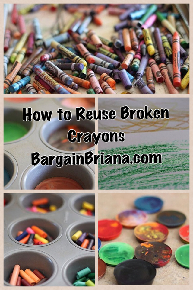 How to Reuse Broken Crayons How to Reuse Broken Crayons