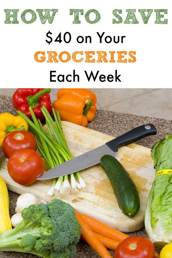 How to Save 40 Dollars on Your Groceries Each Week