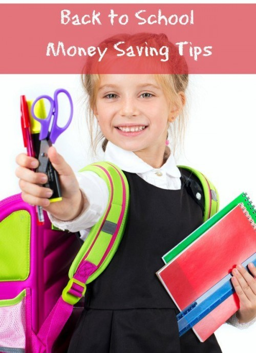 Back to School Money Saving Tips