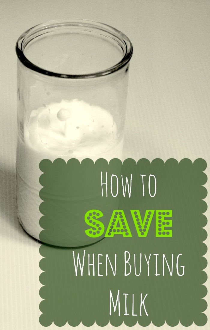 How to Save When Buying Milk