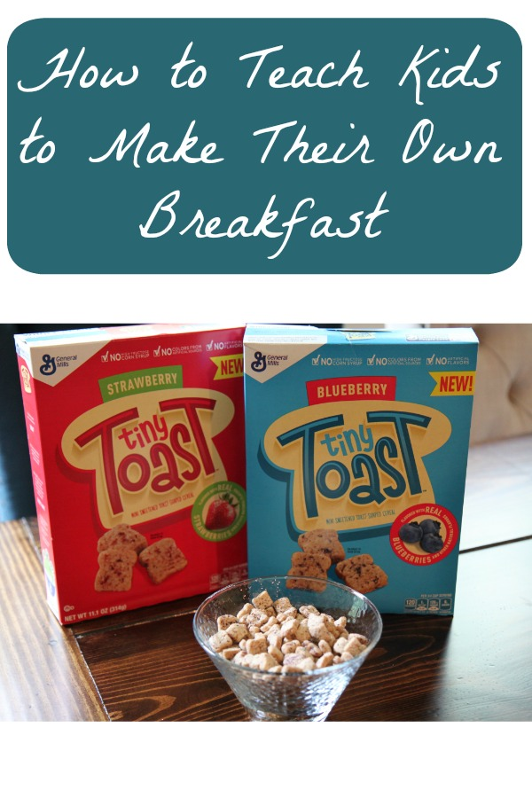 How to Teach Kids to Make Their Own Breakfast