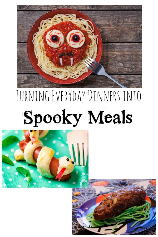 How to Turn Everyday Dinners into Spooky Meals