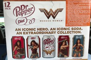 Save $5 on Wonder Woman Movie Ticket with Participating Dr Pepper Purchase at Walmart