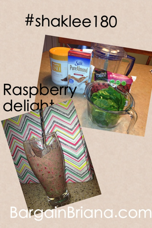 Raspberry Delight Shaklee 180 Smoothie Recipe