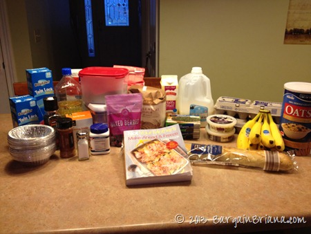 Frugal Friday: Freezer Meal Cooking for Breakfast & Vegetarian Dinners