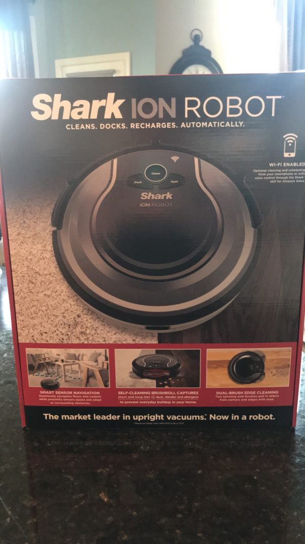 Shark Ion Robot Automatic Vacuum - Must Have Item for Pet