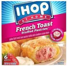 Ihop French Toast Walmart: IHOP Frozen Breakfast Pastries $1.87