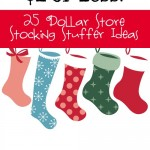 Inexpensive Dollar Store Stocking Stuffer Ideas