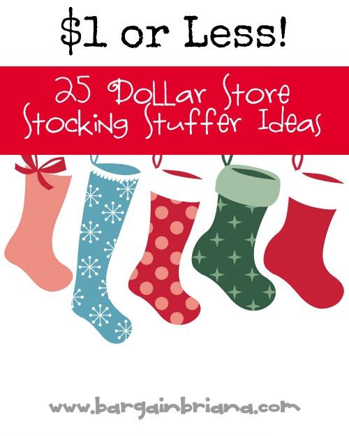 Inexpensive Dollar Store Stocking Stuffer Ideas