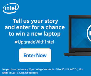 Upgrade With Intel Contest + Great Deal on Dell Inspiron 15.6″ Laptop #UpgradeWithIntel