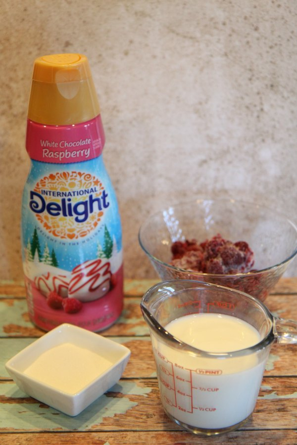 International Delight Raspberry Blend Ingredients