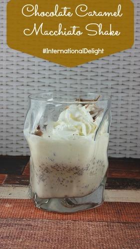 International Delight with Ice Cream Dessert