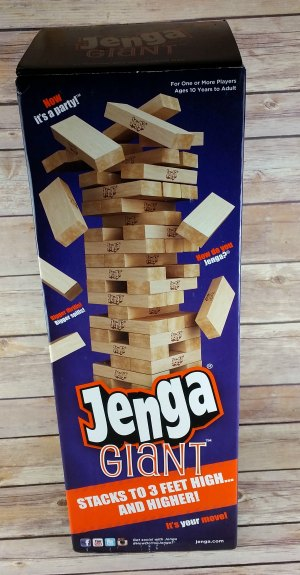 Jenga Giant Fun for the Entire Family