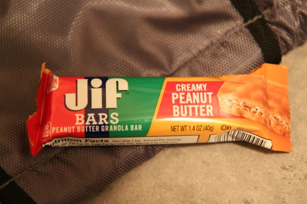 Jif Bars on the Go