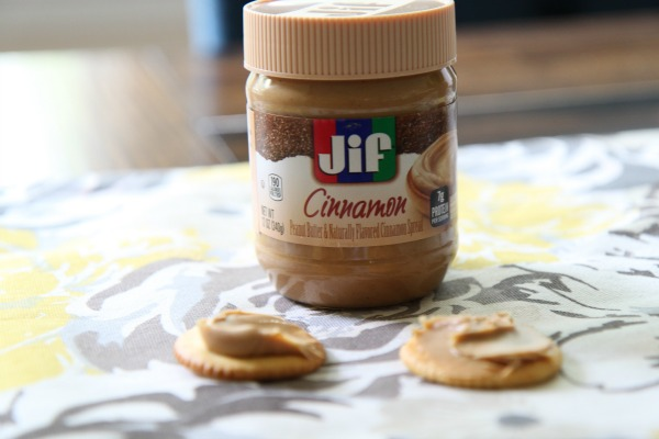 Jif on Crackers