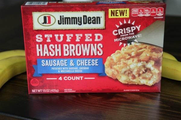 Jimmy Dean Stuffed Hash Browns