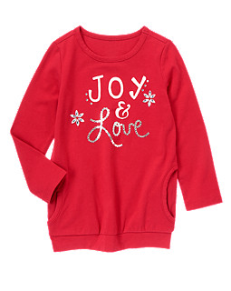 Joy and Love Tunic Top