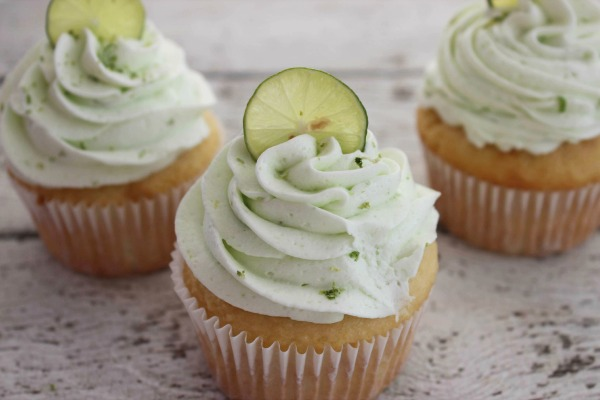 Key Lime Cupcakes Recipe with real lime juice