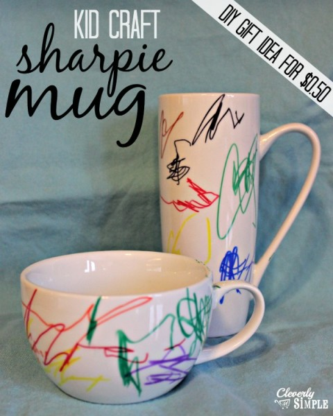 Kid Craft - Sharpie Artwork - Cleverly Simple