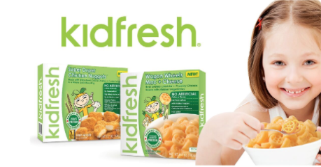Kidfresh Frozen Kids Meals: Earn $1 with the Ibotta and Checkout 51 App!