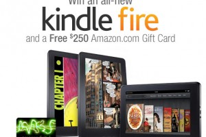 Amazon MP3 Store Giveaway: Enter to Win An All-New Kindle Fire + $250 Amazon Gift Card