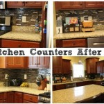Kitchen Counters After Organization