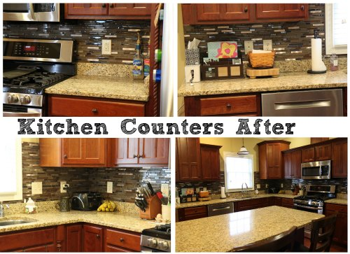 Charmant Kitchen Counters After Organization