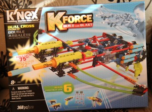 K'nex K-Force Dual Cross Building Se