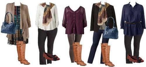 Kohls plus size budget fashion board
