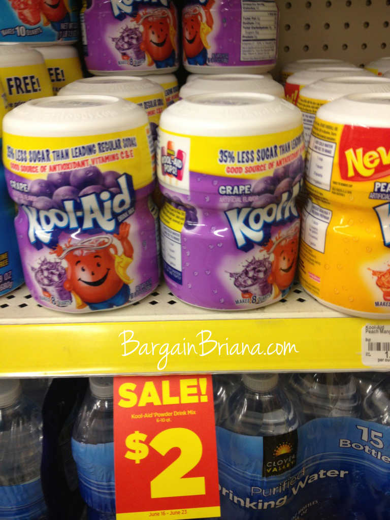 Kool Aid Sweetened Dollar General Coupon Match up