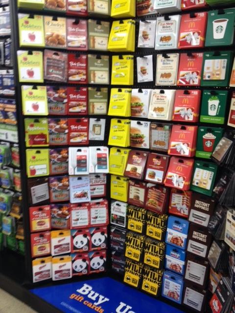 Kroger Gift Card Display