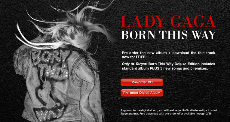 lady gaga born this way cd release date. dresses lady gaga born this