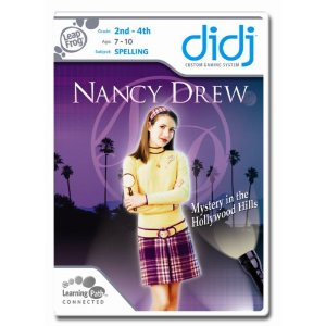Leapfrog Didj Custom Learning Game Nancy Drew $4.45