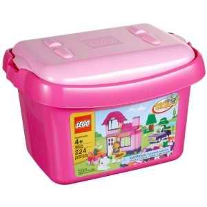 Lego pink bricks