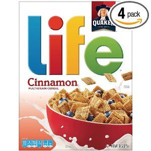 Amazon Subscribe & Save: Life Cinnamon Multigrain Cereal (13oz, 4pk) $10.24