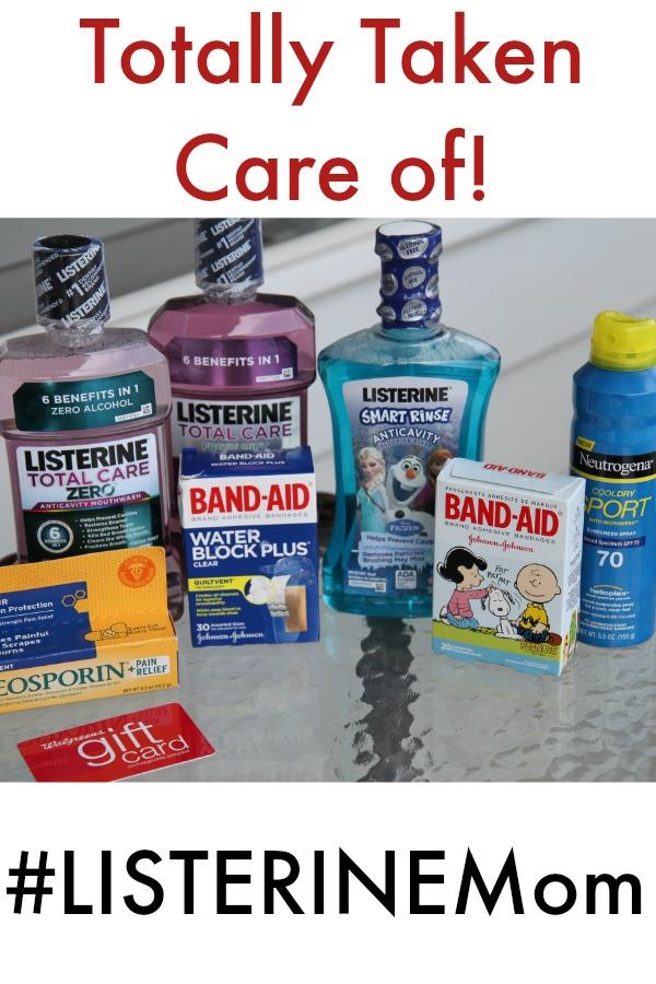 ListerineMom Totally Taken Care of