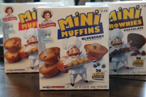 Start Your Mornings with Little Debbie® Mini Muffins