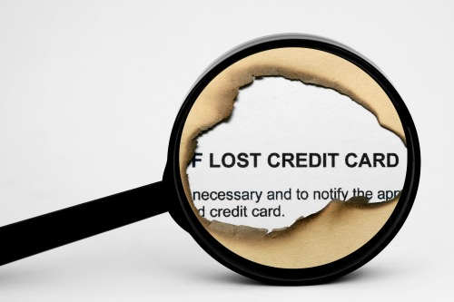 Lost Credit Card