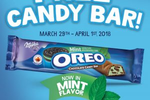 FREE Oreo Candy Bar This Weekend at Select Walmart Locations