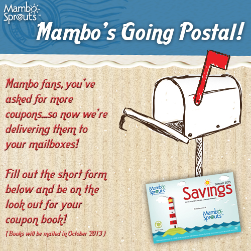 Mambo Sprouts Coupon Booklet