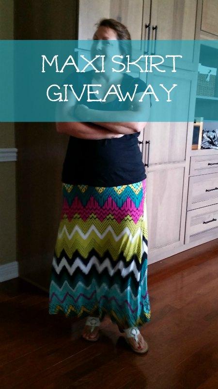 Maxi Skirt Giveaway