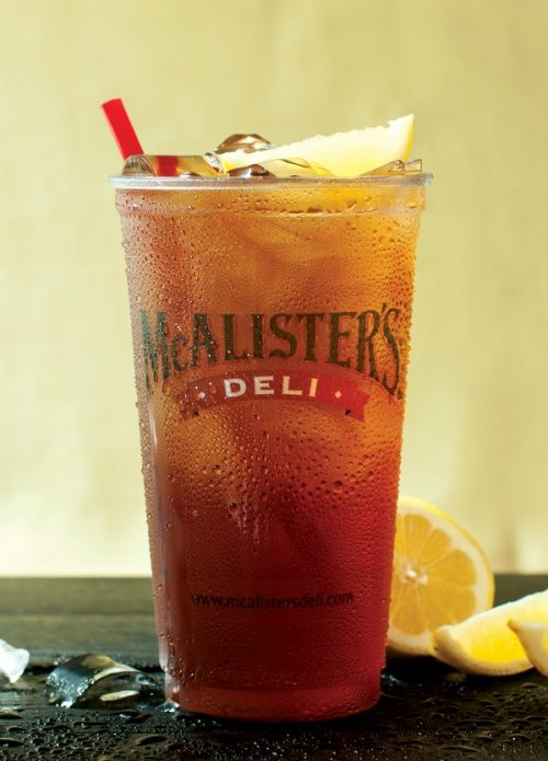 Celebrate National Iced Tea Month with FREE Tea at McAlister's Deli on 6/29