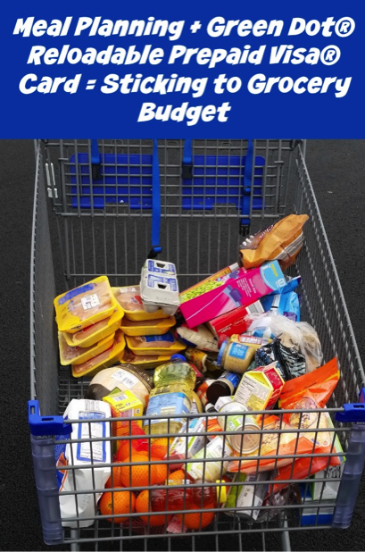 Sticking to my grocery budget is a breeze with the help of the Green Dot® Reloadable Prepaid Visa® Card! VisaClearPrepaid AD
