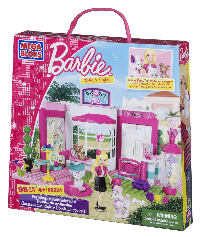 Mega Bloks - Barbie - Build 'n Style Pet Shop