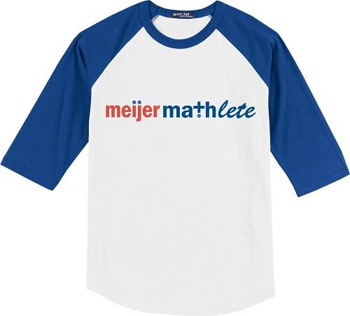 Meijer Mathlete Shirt